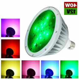 120V/12V 35W Color Change Led Pool Light Bulb for Pentair or