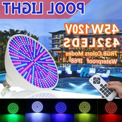 120V 45w LED Color Changing Swimming Pool Light Bulb  with R
