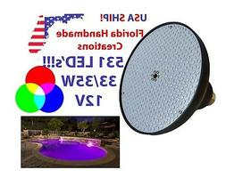 12V 33W Swimming Pool RGB Color Changing LED Light for Penta