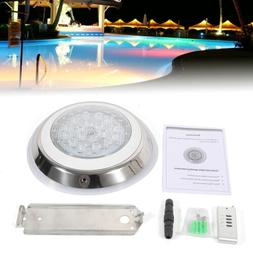 12V 54W 7-Color RGB LED Swimming Pool Light Lamp Underwater