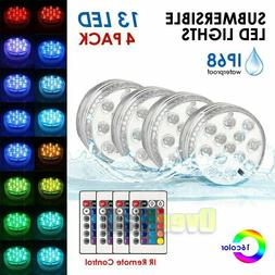 13LED Underwater RGB LED Disco Light Glow Show Swimming Pool