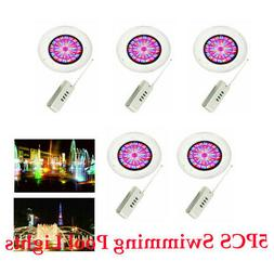 5PC Pack 360LEDs Swimming Pool Light 36W RGB Spa Underwater