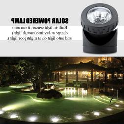 6 LED Submersible Bright Solar Powered Light Underwater Pool