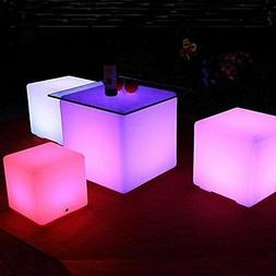 Floating Pool LED Lights Orbit Ball Cube Remote Outdoor Wate