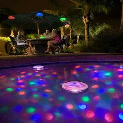 Floating Underwater LED Disco Light Glow Show Swimming Pool
