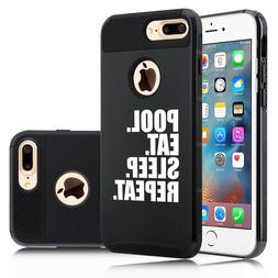 For iPhone X SE 5 6 6s 7 8 Plus Shockproof Hard Case Cover P