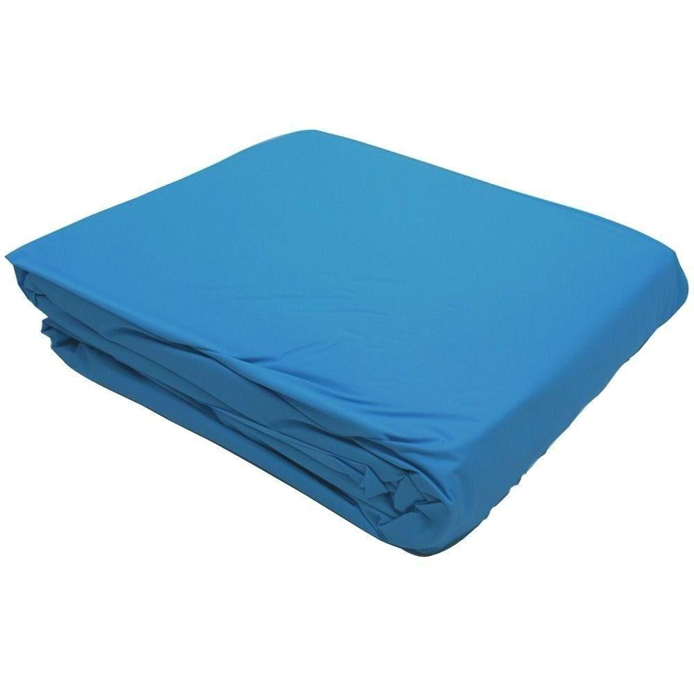 18 round blue overlap liner for above
