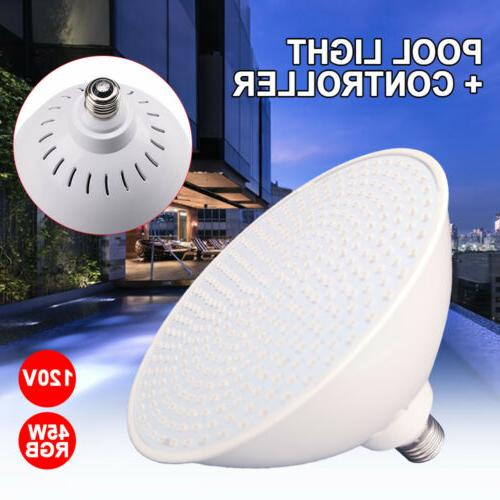 LED Pool Light Bulb with Controller Color Changing lamp for