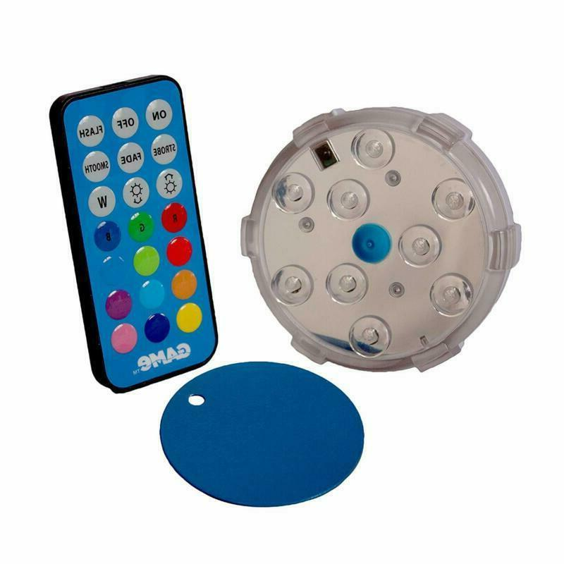 Intex Waterproof Color Changing Under Led Magnetic Swimming
