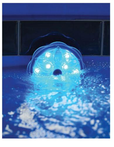 Mainstays LED Submersible Pool Light With Remote