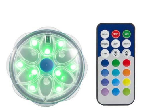 led magnetic and submersible pool wall light
