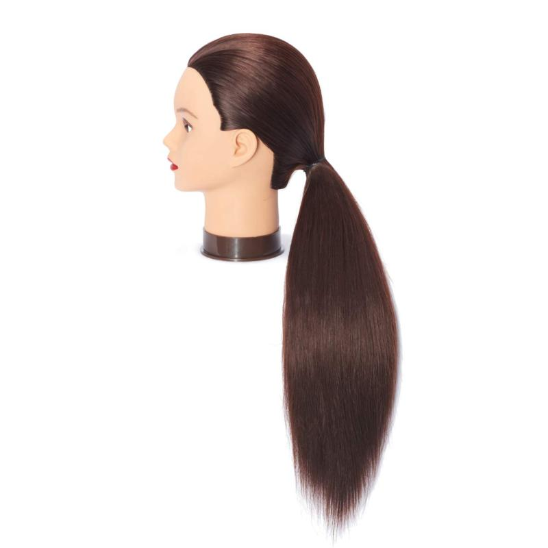 Mannequin Head With Hairdresser Training Cosmetology Stand Dummy