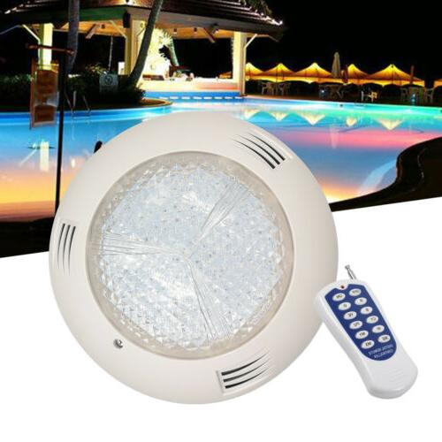 NEW 18W LED RGB Underwater Swimming Pool Lights +Controller