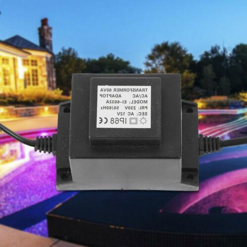 Output AC 12V Transformer 60W Adapter for LED Pool Light IP