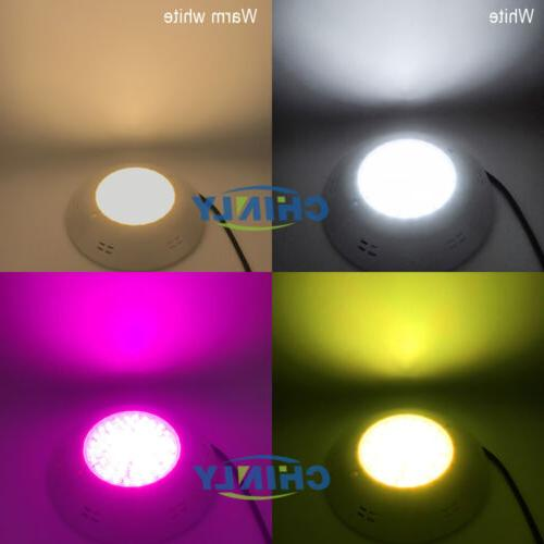 Pool Decorate RGBW Wall Hang LED Underwater Light Kit 16W