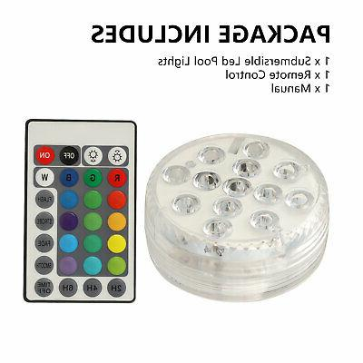 Submersible LED Underwater Light Fountain Swimming Pool Lamp