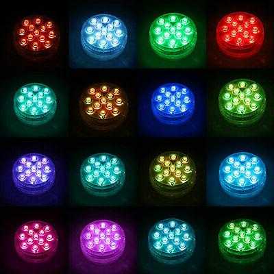 Submersible LED Light Lamp Remote Control