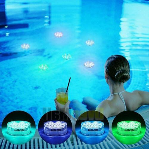 4 Led Lights with for Swimming tube