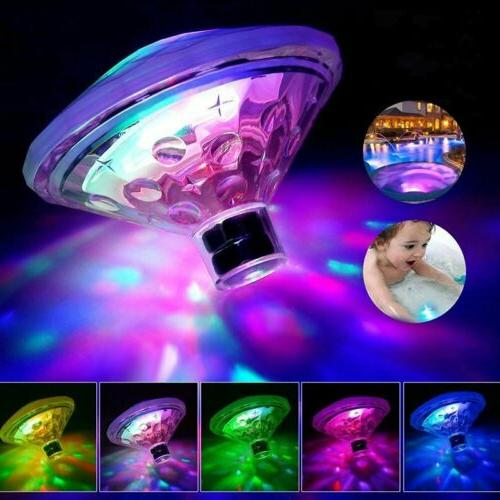 Waterproof LED Swimming Pool Pond Light Underwater Party Bab
