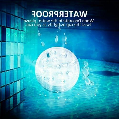 Underwater RGB Swimming Lamp Remote Control