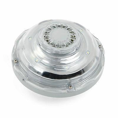 white hydroelectric power pool light
