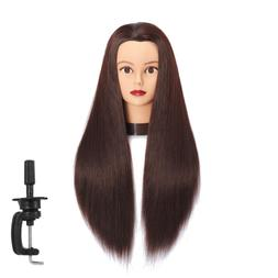 Mannequin Head With Hair Hairdresser Training Cosmetology St