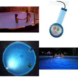 multicolor underwater light for above ground pool