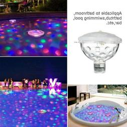Solar Underwater Floating RGB Party Light Glow Swimming Pool