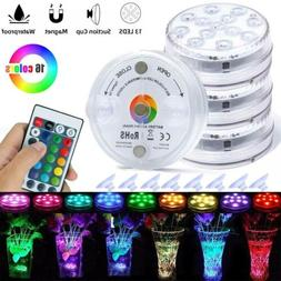 Submersible LED Lights RGB Remote Color Changing Underwater