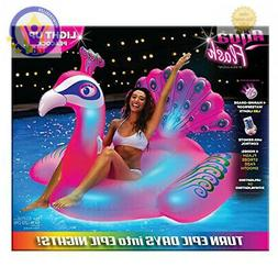 Swimline Giant LED Light Up Inflatable Swimming Pool Float A