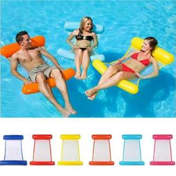 Swimming Pool Floating Water Hammock Lounge Chair Inflatable