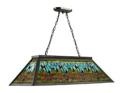 "Dale Tiffany TH12406 Glade Pool Table Hanging Fixture, 19"" x"