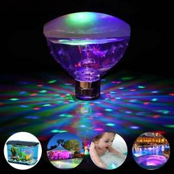 Underwater LED Glow Light Show Swimming Floating for Pool Po